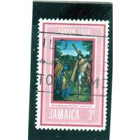 Ямайка. Ми-304. Христос появляется в Святом Петре. Серия: Пасха.1970