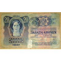 Буковина 20 крон 1919г