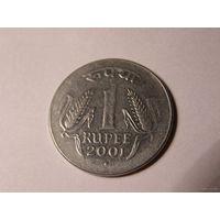 Индия. 1 рупия 2003г.  распродажа