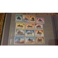 Транспорт, автомобили, машины, ретро, марки, Сан-Марино, 1962