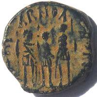 АРКАДИЙ (395-408 г.) АНТИОХИЯ. АЕ4.