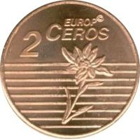 2 евро цента Лихтенштейн (Europ Ceros)