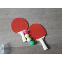 Ракетка для настольного тенниса, набор детский.