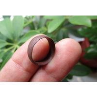 Кольцо старинное из медной монеты