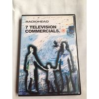 РАСПРОДАЖА DVD! RADIOHEAD - 7 TELEVISION COMMERCIALS