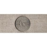 США 25 центов 2001/Род Айленд/КОРАБЛЬ(Ab)