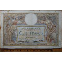 100 франков 1934 г. Р78c