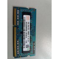 Оперативная память для ноутбука SO-DIMM DDR3 2Gb Hynix PC-10600 HMT325S6BFR8C-H9 (906351)