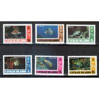 Коралловые рыбки на марках Каймановых островов 6 Михель-Евро