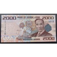 Сьерра-Леоне. 2000 леоне 2010 [UNC]
