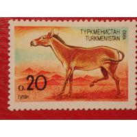 Туркменистан 1992г. Фауна