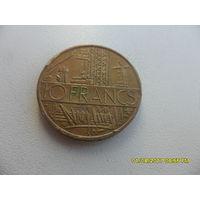 10 франков Франция 1984 год, KM# 940, 10 FRANCS, из мешка