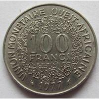 Западная Африка (BCEAO) 100 франков 1977 - пореже