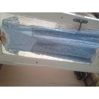 Нарядное платье на девочку 158-164, светло-голубое, длинное, атлас