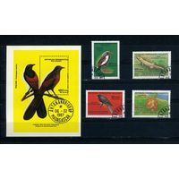 Мадагаскар 1987г. птицы и звери. 4м. 1 блок.