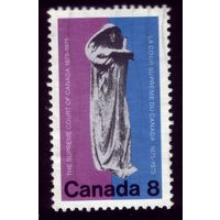 1 марка 1975 год Канада 605
