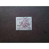 Индия 1949 г.Боевой конь в храме Конарк.