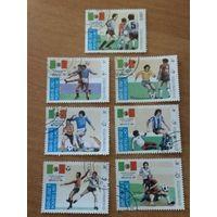 Лаос 1984. Футбол. Полная серия