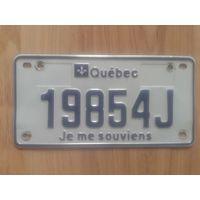 Номер мотоциклетный канадский