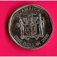 36-03 Ямайка, 1 доллар 2008 г.