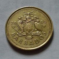 5 центов, Барбадос 2005 г., AU