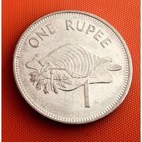 100-13 Сейшелы, 1 рупия 2010 г.