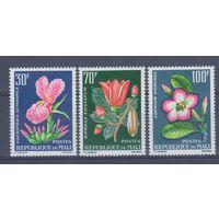 [171] Мали 1963. Флора.Цветы. СЕРИЯ МH