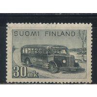 Финляндия 1946 Почтовый автобус #330