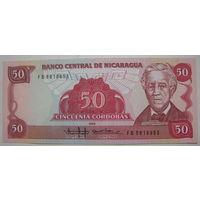 Никарагуа 50 кордоба 1985 г.