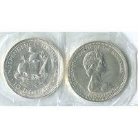 Багамы. 10 долларов 1973г.