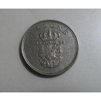 ДАНИЯ 1 крона 1965 Фредерик IX