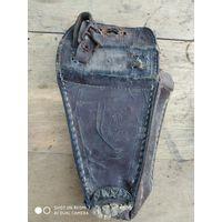 Старинная велосипедная сумка для инструмента