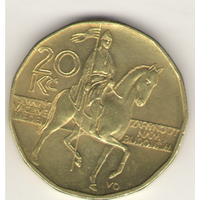 20 крон 2012 г. Чешская республика.