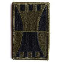 Шеврон 416-ой инженерной команды Сухопутных войск США (распродажа коллекции)