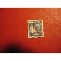 """Марки Король Георг VI и местные мотивы, с надпечаткой """"Самоуправление - 1947"""" 1948 год Мальта"""