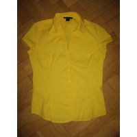 Желтая блузка Mango 42-44