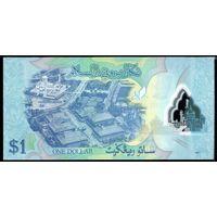 Бруней 1 доллар 2011 г. (Рick 35) UNC  распродажа
