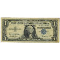 США. 1 доллар  1957 год