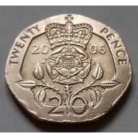20 пенсов, Великобритания 2006 г.