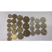 Копейки СССР лот из 28 монет