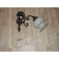 Настенный светильник 1970,+ 2 плафона
