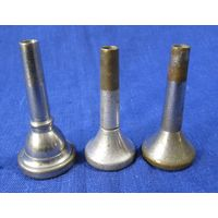 3 мундштука для духовых труб