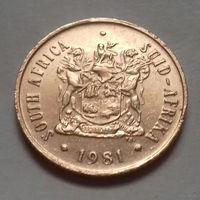 2 цента, ЮАР 1981 г.