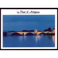 Франция Мост в Авиньоне