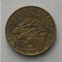 Франц. Камерун 5 Фр. 1958 (71)