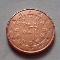 1 евроцент, Португалия 2007 г.