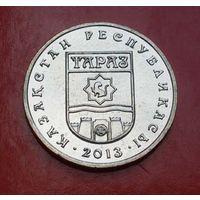 50 тенге 2013 Казахстан Серия города (гербы) - Тараз