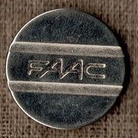 Жетон / Системы контроля доступа FAAC / ФААК / Большой / Гладкий