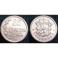 W: Люксембург 25 сантимов 1960 (895)