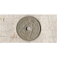 Бельгия 25 сантимов 1921 //(ON)